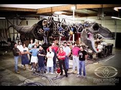 Behind the scenes of JURASSIC PARK's T-Rex. Building an Animatronic Dinosaur - Part 1. Special Effects by Stan Winston Studio.