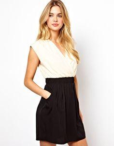 Image 1 ofVila 2 In 1 Mini Dress