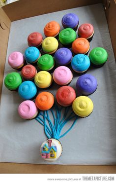 For my birthday....this would be incredible! Thats right, 25 going on 6! Haha. Up cupcake cake...