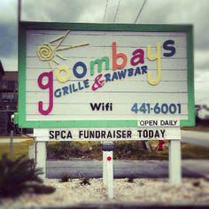 OBX Eats: Goombays Raw Bar & Grille | Fantastic local restaurant in Kill Devil Hills, North Carolina.