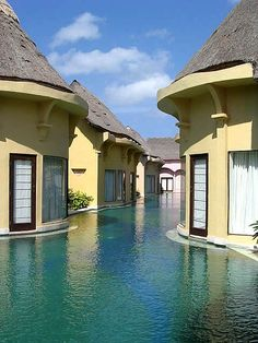 Step outside and take a swim, Bali!