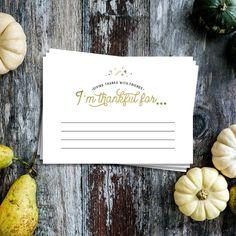 Friendsgiving Thankful Cards - x Snapchat Birthday, Bridal Shower Prizes, The Perfect Touch, Giving, Fun Activities, You Nailed It, Art Pieces, Thankful, Place Card Holders