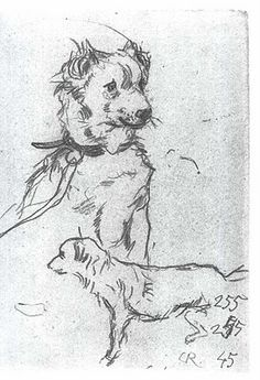 by German artist Christian Rohlfs (1849-1938) (via wikimedia commons {PD})