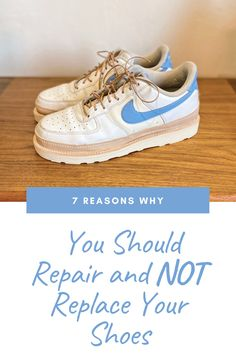 "Shoe repair to me was something I rarely took advantage of.  The majority of my shoes were cheaply made of harmful materials like ""pleather"" and were pieces of garbage."