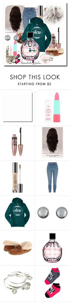 """""""School Outfits"""" by schooloutfits101 on Polyvore featuring Rimmel, Maybelline, WigYouUp, Urban Decay, Kenneth Jay Lane, UGG Australia, Jimmy Choo, Vera Bradley and livelaughlove"""