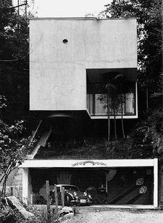 Blue Box House by Mayumi Miyawaki, Tokyo, 1971.