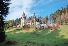 Located in Sinaia (44 km from Brasov), Peles Castle is considered by many one of the most beautiful castles in all Europe. It was the final resting place for several Romanian monarchs including King Carol I, who died here in 1914. Visit Transylvania and Romania http://www.hellotransylvania.com