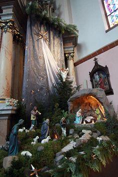 szopka bożonarodzeniowa w kościele - Szukaj w Google