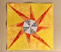 Test block The Pa, Lucky Star, Reflection, Quilts, Stars, Quilt Sets, Sterne, Log Cabin Quilts, Quilting