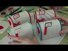 Stampin Up - Altered Mailboxes and How To - YouTube