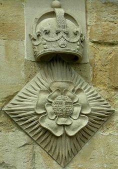 Windsor Castle Tudor Rose and cross