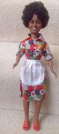 Marla Gibbs Florence Shindana Doll 1978 Black History TV The Jeffersons RARE   eBay