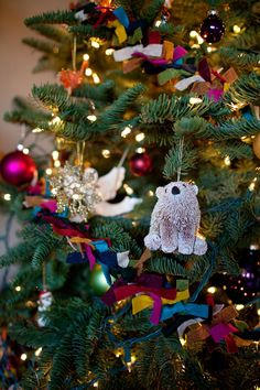 DIY Felt Christmas Tree Garland