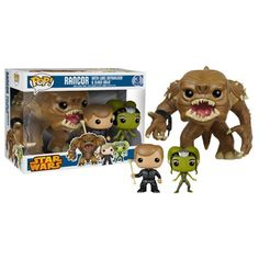 Star Wars Rancor, Luke, and Oola Pop! Vinyl Figure 3-Pack PX - Funko - Star Wars - Pop! Vinyl Figures at Entertainment Earth