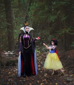 This mother and daughter duo captured their love of Disney princesses through a fun and imaginative photo shoot.
