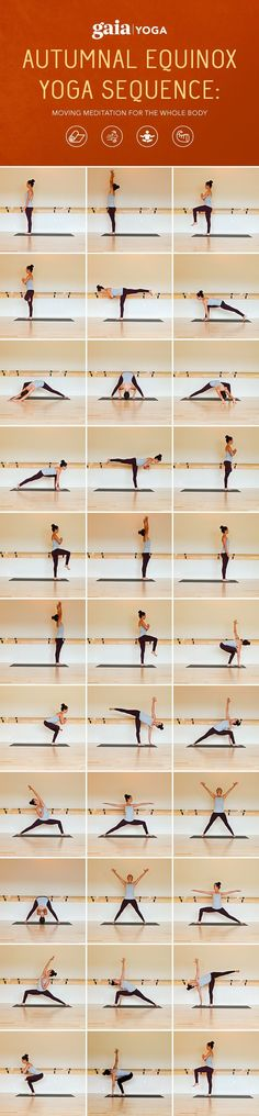 Autumnal Equinox Yoga Sequence: Moving Meditation for the Whole Body. Full written sequence + accompanying video.