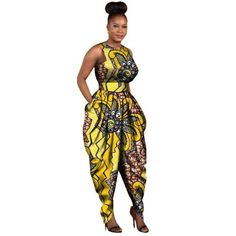 wow these african fashion jumpsuit are stunning Image# 6879159852 African Fashion Designers, African Men Fashion, African Dresses For Women, Africa Fashion, Black Women Fashion, African Attire, African Wear, African Fashion Dresses, African Women
