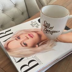 Hello Gorgeous 15oz Bistro Mug