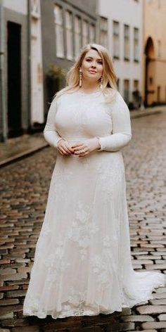 33 Plus-Size Wedding Dresses: A Jaw-Dropping Guide ❤ plus size wedding dresses sheath with long sleeves modest rustic country wearyourlovexo size wedding dresses simple 36 Plus-Size Wedding Dresses: A Jaw-Dropping Guide Plus Size Wedding Dresses With Sleeves, Plus Wedding Dresses, Cute Wedding Dress, Country Wedding Dresses, Designer Wedding Dresses, Plus Size Dresses, Bride Dresses, Tunic Dresses, Ivory Dresses