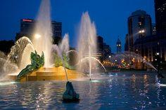 Swann Memorial Fountain, Ben Franklin Parkway, Philadelphia