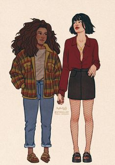 One-Shots E Imágenes: Drarry, Blairon, Pansmione - 💄 Pansmione 📚 - Wattpad Cute Lesbian Couples, Lesbian Art, Gay Art, Harry Potter Fan Art, Harry Potter Ships, Drarry, Dramione, Hogwarts, Slytherin