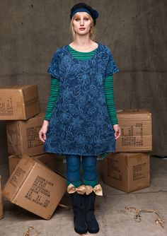 GUDRUN SJÖDÉN: cute outfit and love the bows on the boots