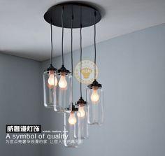mason jar hanging light - Google Search