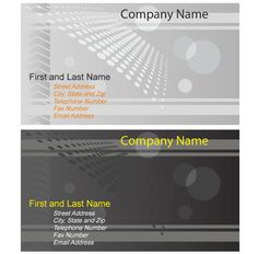 Musicians Business Card Designs Vector Free Vectors Pinterest - Business card templates ai