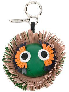 Fendi 'Bag Bug' Fendi Bag Bugs, Fendi Bags, Leather Keyring, Monster Design, Key Fobs, Leather Craft, Fashion Accessories, Stuff To Buy, Key Chains