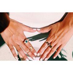 gold third eye ring on Sale at VIVA LA GYPSY
