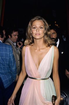 Dedicated to Lauren Hutton - Blue is in Fashion this Year