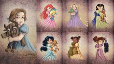 Immagine di childhood, princess, and disney