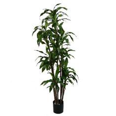 Artificial plant, 6' dracaena fragrans
