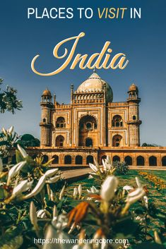 Every traveller's bucket list with a mention to India revolves around Taj Mahal. So, I would like to introduce the places to visit in India beyond Taj Mahal. India Travel Guide, Asia Travel, Solo Travel, Travel Tips, Wanderlust Travel, Cool Places To Visit, Places To Travel, Travel Destinations, Taj Mahal