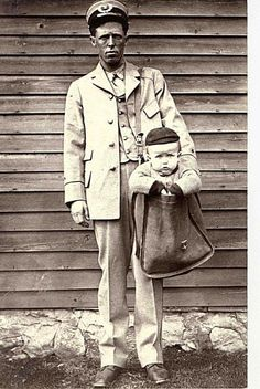 Several babies and children were actually legally mailed via the US Post Office from 1913 to 1915.