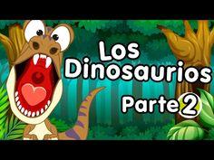 Dinosaurios del Jurásico canciones infantiles - YouTube Preschool Spanish, Elementary Spanish, Dinosaurs Preschool, 5th Grades, Kids Learning, Doodles, Clip Art, Teaching, Education