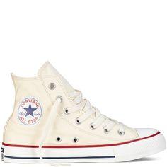 Chuck Taylor Classic Colors -Hi Natural White - All Star - Converse