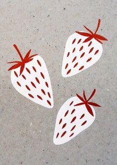'White Fruit' by Karolin Schnoor