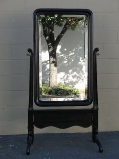 The Craftsman: Empire Revival Mirror, with the work completed
