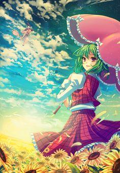 kazami yuka by pcmaniac88.deviantart.com on @deviantART