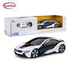 Lizenzierte 1:24 rastar rc mini cars elektrische fernbedienung toys 4ch radio gesteuert cars classic toys für jungen kind geschenk i8 48400