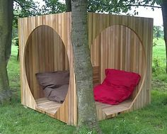 natural modern interiors: Garden Pods, Hanging Playrooms, Artificial Grass :: Grand Designs Live 2011, London