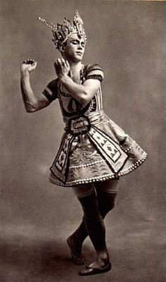 Nijinsky in a role i know I should remember but can't.  Please feel free to tell me!