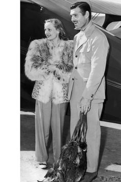 Carole Lombard and Clark Gable   - Veranda.com