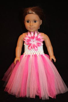 American girl pink dress that you can sew.