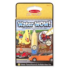 Melissa & Doug Water Wow-Vehicles (#5375)