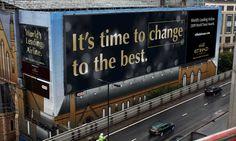 Etihad Building Wrap Banner