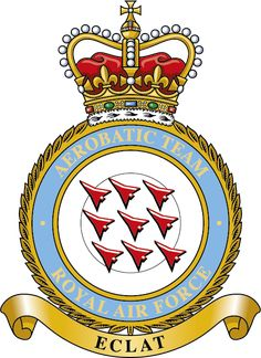 The Red Arrows, officially known as the Royal Air Force Aerobatic Team, Air Force Blue, Royal Air Force, Blue Angels Planes, Airplane Crafts, Raf Red Arrows, Military Jets, Military Aircraft, Arrow Logo, Native American History