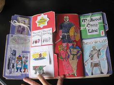 Medieval Lapbook ideas; great lapbook inspiration in general.