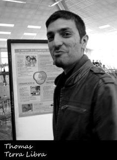 Thomas Burel, à la tête de Terra Libra, défend commerce équitable et bio-local